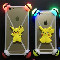 Universal 3D pokeball poke pikachu Silicone case LED lamp Bu...