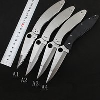 4 models C07 folding knife VG10 Blade Stainless Steel G10 ha...