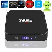 T95M Android6. 0 4K TV Box 64Bit 1GB 8GB Amlogic S905X Quad C...
