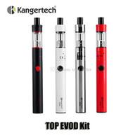 Authentique Kangertech TopEvod Kit de démarrage 650mAh EVOD Batterie 1.7ml Kanger TOPTANK Topfill VOCC-T Atomiseur Top Evod Kit