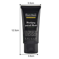 2017 Shills Peel-off face Masques Démaquillants Démaquillants Noirs Masque 50ML Blackhead Masque Facial Masque Noir Masque Matte
