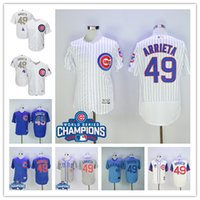 Jake Arrieta Jersey Chicago Cubs #49 World Series Champions ...