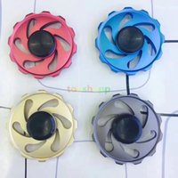 Five Colors Gyro Spinning Top Fire Wheel Hand Spinners Stres...