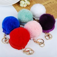 Double Faced Folding Cosmetic Mirror Keychain Portable Car K...