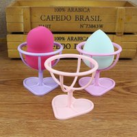 Power Puff Stand Holder Make Up Sponge Organizer Shelf Makeu...