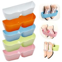 Adhesive Shoe Rack Shoe Shelf Stand Wall Hanging Shoes Stora...