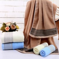 100% Cotton Bath Towel 70*140CM Large Absorbent Beach Towels...