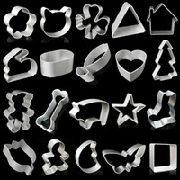 40 Style Cookie Cutter Animal Baking Tools Biscuits Cake Bre...
