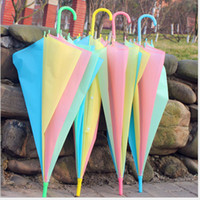 fashion Rain Umbrellas long Handle Cute beach Umbrella parag...