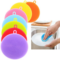 Silica Gel Wash Bowl Brushes Universal Brush Silicone Sponge...