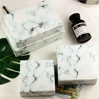4 Size Marble Design Paper Cake Box Chocolate Party Cookies ...