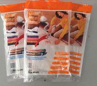 4 Sizes Vacuum Bag Fit Clothing Storage Saving Space Bag Com...
