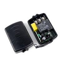 high power rf - New High Power AC220V Single Channel RF Wireless Remote Control Receiver Relay Module Switch MHz Learning Code F4263A