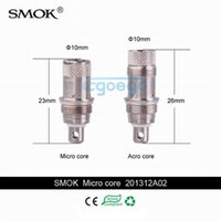 technology - Original Smok Micro bottom coils New technology World first fluid hole adjustable smok m core a core For Smok Micro GDC ADC TDC RDC Atomizer