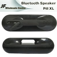 Wholesale 2015 New Arrival Pill XL Speaker Bluetooth Wireless Speakers Stereo HIFI Music Player Sound Box with NFC Function for tablet PSP iphone6 S6