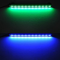 aquarium lightings - Hot Sale White LED Aquarium Fish Tank Light Strip Bar Lamp with Suction Stick Pet Products Fish Aquatic Supplies Lightings