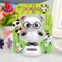 Wholesale 240pcs Hot Sale Creative car decorative ornaments cute Chinese panda toys interior car decoration Cute Cartoon Car Ornament