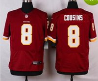 america discount - 2016 Elite Cousins White Red Redskins America Jerseys Cheap discount football jerseys Custom Limited