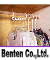 clothes closet organizer - Space Saver Wonder Magic Hanger Clothes Closet Organizer Hook Drying Rack Multi Function Clothing Storage Racks LLFA3057F