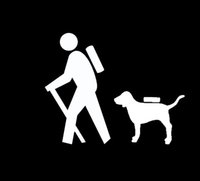 backpack stickers - HIKER HIKING DOG BACKPACK CAMPING FAMILY Sticker for Car Window Vinyl Decal TRUCK SUV LAPTOP