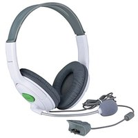 live chat - Gaming Chat Headphone Headset with Microphone Mic for Microsoft Xbox Live White