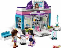 beauty shop toys - Friends Butterfly Beauty Shop Building Block Sets Original Bela Educational DIY girls Toys Bricks Compatible With