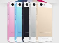 Wholesale Aluminum Metal Frame Bumper PC Back Cover For Gionee Marathon M3 Cell Phone Cases Support Retail