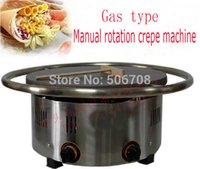 crepes machine - gas type can rotating Crepe machine Crepe maker