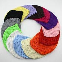 kufi crochet hat cap - Colors New Popular kufi hats girl crochet hat baby beanie crochet cap kufi caps toddler baby knited beanies