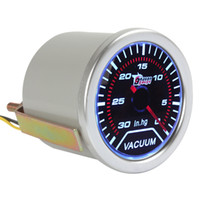 auto vacuum gauge - 2 quot mm Vacuum Meter Guage for Auto Car with Led Light Display CEC_524