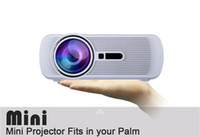 Wholesale US Stock BL P HD Mini Portable Projector LED Cenima Home Theater AV USB SD VGA HDMI x1080 LCD Projectors