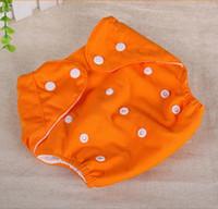 Wholesale Baby Cloth Diaper Washable Reusable Baby Nappies cloth diaper baby nappies pocket diapers diaper pants diaper