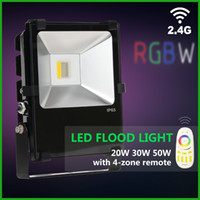 ac technology - New Technology Smart WIFI LED RGBW Flood Light W W W IP65 floodlight wifi led controller RF remote
