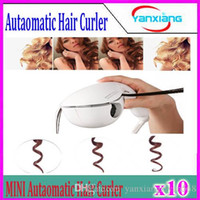 Wholesale 10pcs Hot mini type curling device new brand hair care tool mini automatic curlers curling irons four type plug YX MN JFQ