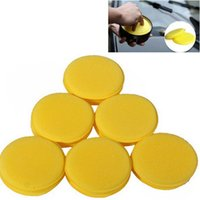 Wholesale 12 x Waxing Polish Wax Foam Sponge Applicator Pads For Clean Car Vehicle Glass