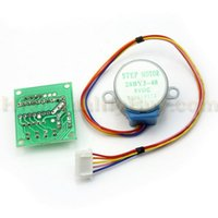 Wholesale New Stepper Motor Driver Test Module Board ULN2003 DC V phase line BYJ