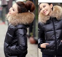 Women Hooded Regular 2013 Newest Fashion Candy Color Slim Thickening Fur Collar Female Short Design Wadded Jacket Cotton-Padded Jacket Outerwear different size