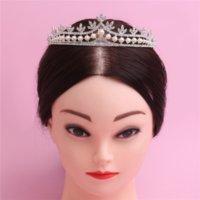 Wholesale 2016 Fashion Wedding Tiaras With Rhinestone cm Pce A Headband Princess Tiara Jewelry Bridal Hair Accessories