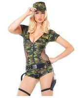 Wholesale - 3pcs/lot Women s Army CAMO Clothes Camouflage Clothes