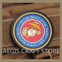 Wholesale pvc velcro patch Support LOGO custom high quality PVC military badge clothes bags decoration patch repair