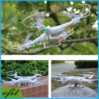 Wholesale Syma X5C G Axis GYRO With MP HD Camera RC Quadcopter UFO RTF RC Helicopter Degrees Gyro Toy LED Quadcopters Original Xmas gift