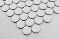 bathroom porcelain tile - FedEx Penny round porcelain mosaic tile circle tiles bathroom paving wall tiles flooring tiles