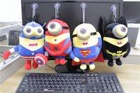 Wholesale 20pcs set The Avengers plush toys cm Marvel s Stuffed Toys Minions Plush toys Kids Gift The Avengers Dolls Gift
