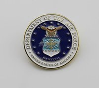 air force emblems - U S air force emblem of the United States Air Force mark mind chapter personality metal badges
