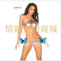 Cheap Appeal paint underwear wrapped chest three-point bikini beach dress latex alternative garments
