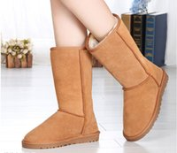Wholesale hot new boots High Quality Womens boots Classic tall Boots Womens Snow boots Winter boots leather boots classic Australia Boots glitter2009