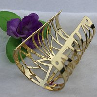 big mia - Mia exaggerated fashion in Europe and America can be a big hollow carved texture of the alloy wide Bangles Women
