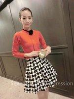 mini plaid skirt - Best style autumn skirt Autumn Winter Fashion Retro Floral Plaid Pattern Mini Bud Skirt Women s Skirt for woman