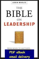 Wholesale The Bible On Leadership Management Lessons For Contemporary Leaders