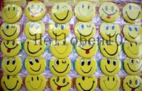 Wholesale Student Prize New Arrival smiling face badge mm cartoon fashion pin badge button gift